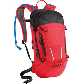 CamelBak M.U.L.E. Hydration Pack 9l+3l racing red/black